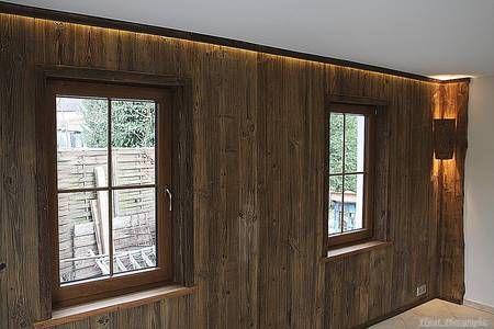 Raumgestaltung mit Altholz und Fenstergestaltung mit Altholz ...