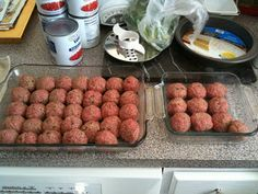 Meatballs for the crockpot from scratch