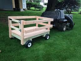 Resultado de imagen para homemade lawn mower trailer