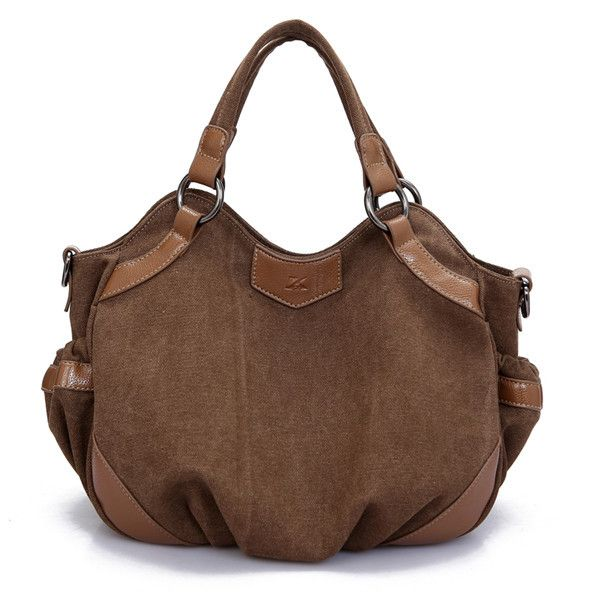 Women Canvas Hobo Casual Handbags Ladies Totes Shoulder Bags Crossbody Bags
