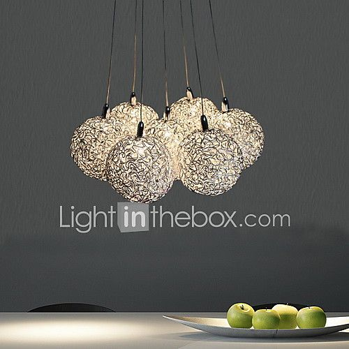 Pendant Light , Modern/Contemporary Electroplated Feature for Mini Style Metal Living Room Bedroom Dining Room 2017 - €107.06