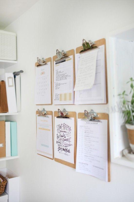 Klemmbrett Benutzen Für Ihre Kreative Wanddeko Ideen | Wanddekoration    Interior Wallpapers   Farben Und Coole Tapetenmuster | Pinterest |  Klemmbrett, ...