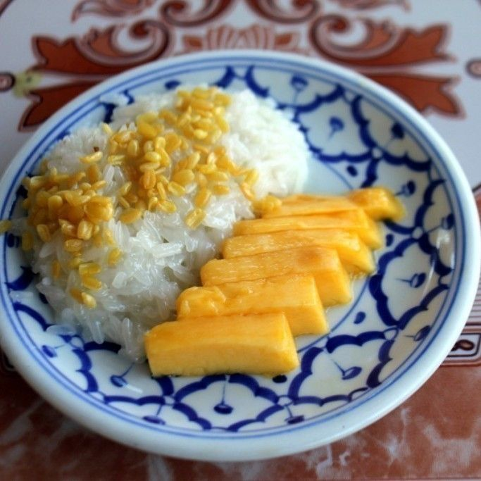 Refined Sugar Free Mango Sticky Rice