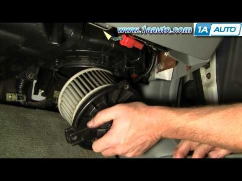 How To Install Replace Heater AC Blower Motor Honda Accord Civic Acura CL EL Integra 92-06 1AAuto - YouTube