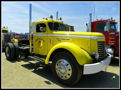 Antique Gmc Tractors : Best images about gmc bigtrucks on pinterest