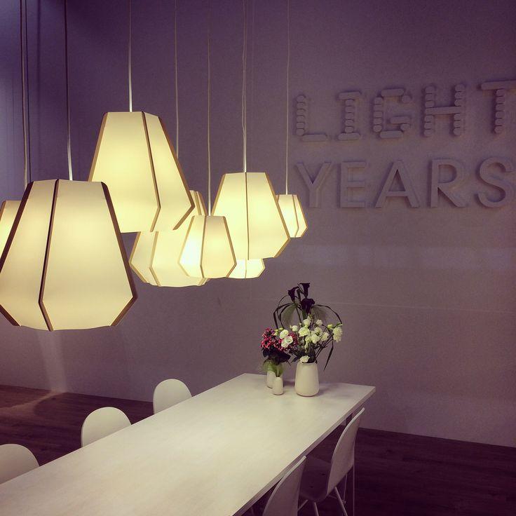 @lightyearsdk lighting at #euroluce #euroluce2015 #salonedelmobile #milandesignweek #lighting #lightingdesign