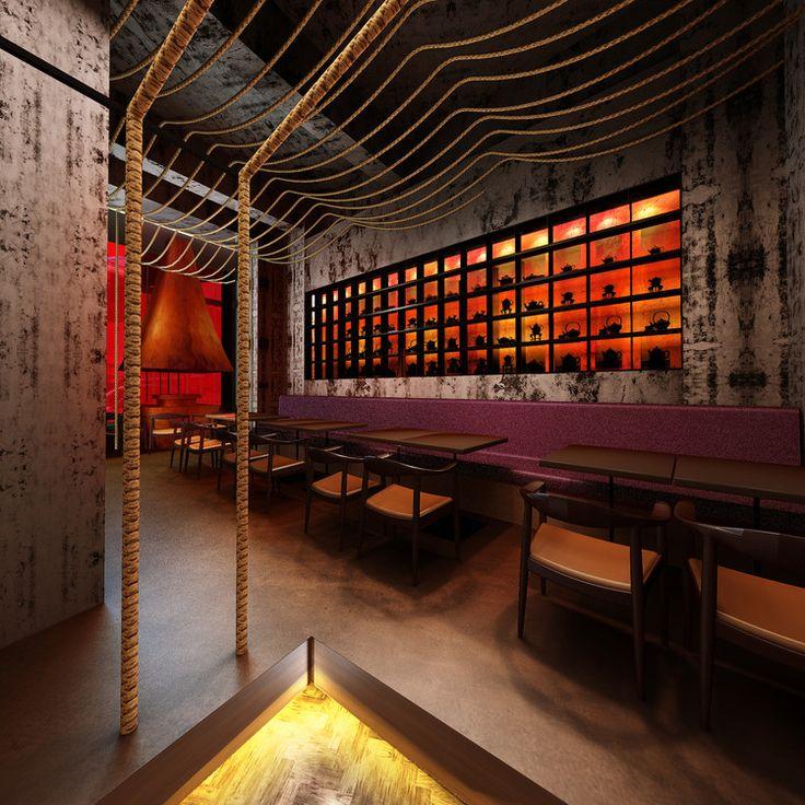 Restaurante Kemuri Shanghai / Prism Design, Cortesia de PRISM DESIGN