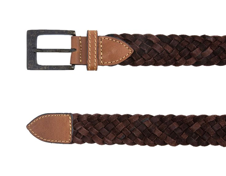 Brown Braided Belt by Zalora. Belt with braided accent with brown color. This braided belt made rom Italian-made leather. Length 100 cm, wide 5 cm. pair this belt with your navy chino or black chino, this belt will suit your casual style well.%0A%0A http://www.zocko.com/z/JG0i3