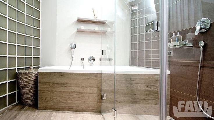 Moderní koupelny inspirace - Rekonstrukce ložnice s koupelnou | Favi.cz