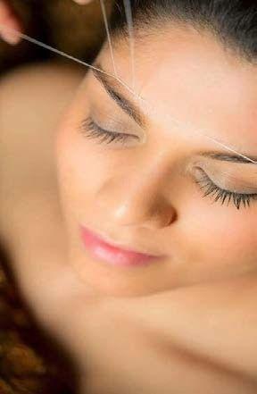 Beneficios de la depilación con hilo