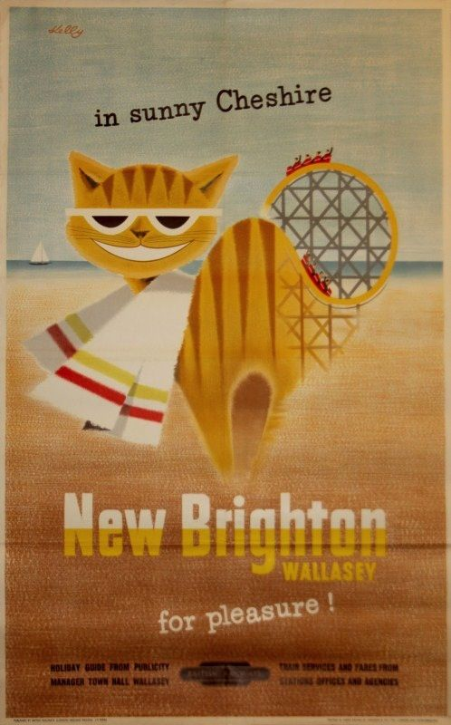 Kelly new Brighton British Railways poster 1955