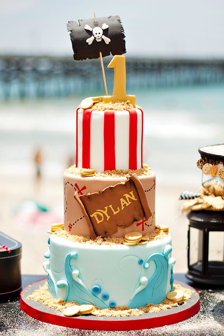 Spectacular Pirate Party on the Beach {First Birthday}