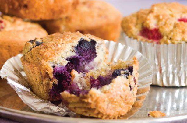 Gluten-free and sugar-free blueberry hazelnut muffins recipe - goodtoknow