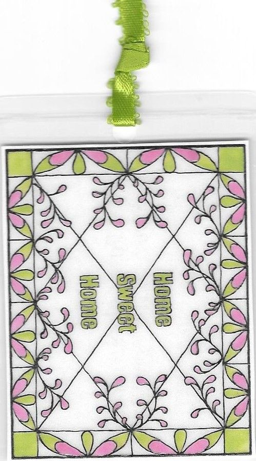 Home Sweet Home Bookmark
