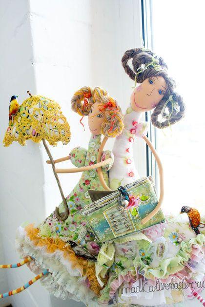 Коллекционные куклы ручной работы. Ярмарка Мастеров - ручная работа. Купить было жарко, жарко..... Handmade. Кукла, кукла интерьерная