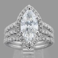 east west marquise diamond ring settings | marquise diamond ring | Our Story Marquise Diamond Engagement ring ...