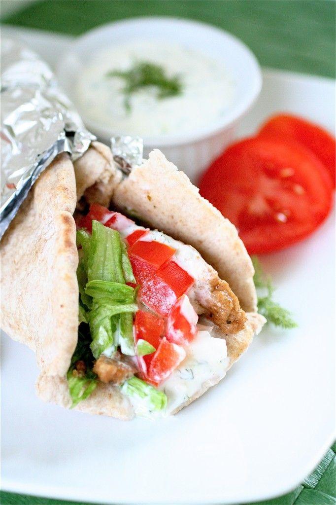 Vegetarian Gyros #vegetarian