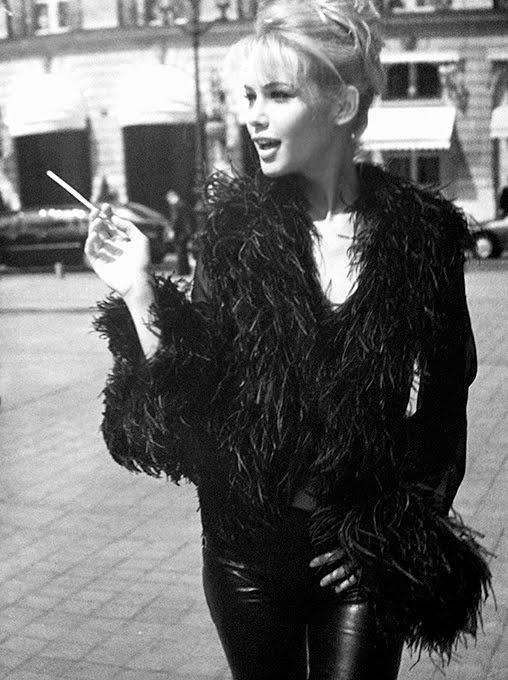 Valeria Mazza in Paris -1990's