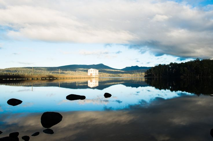 Lake St Clair Tasmania. A breathtakingly beautiful area abundant with wildlife and spectacular scenery.