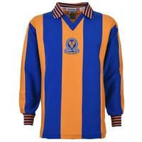 Shrewsbury Town 1980-1981 Retro Football Shirt , From toffs.com , toffs.com