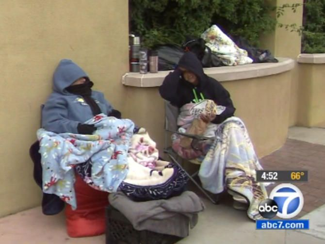 Outside Best Buy, two women already wait for Black Friday TV - CNET Like this.