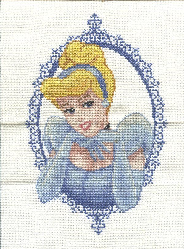 Cross Stitch Cinderella by ~Jazzcat-27 on deviantART