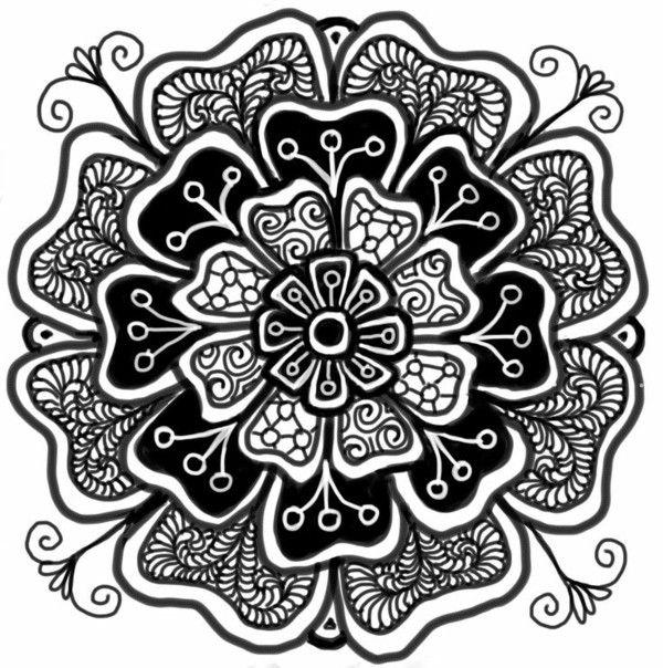 40 Best Images About Color Design: 7 Best 40 Mandala Templates