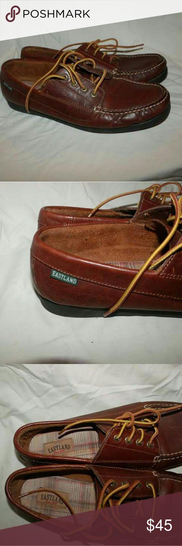 "Eastland ""Falmouth"" size 11 Leather Boat Shoe New without box ladies Eastland "" Falmouth"" brown leather boat shoe Eastland Shoes Flats & Loafers"