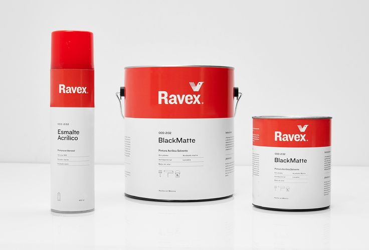 Picture of 5 designed by Parámetro Studio for the project Ravex. Published on the Visual Journal in date 28 March 2017