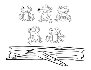 Five little speckled Frogs template!!