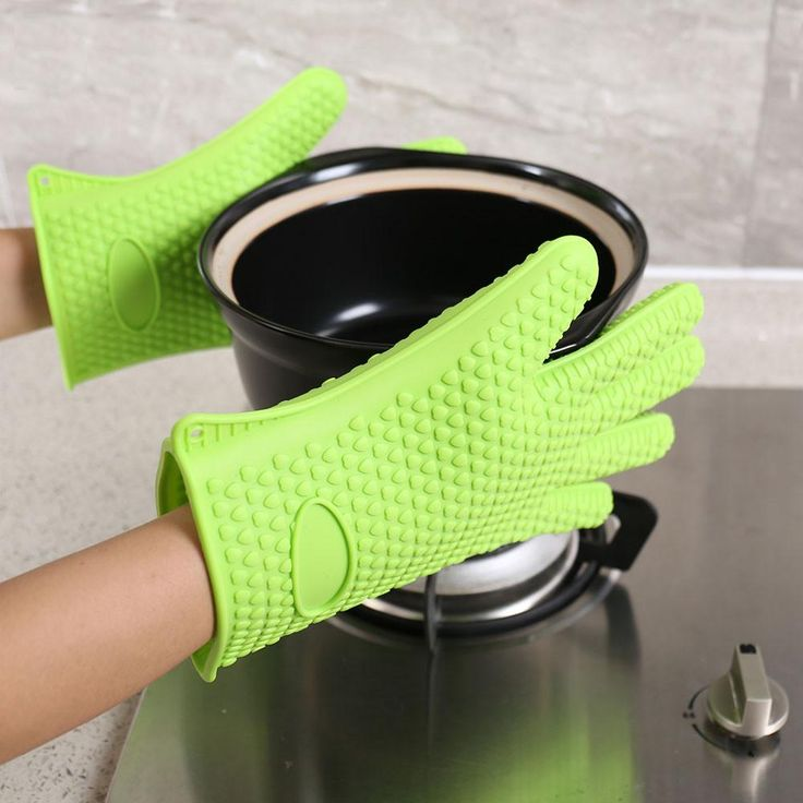 BBQ Grill Glove Pair food Grade Heat Resistant Thick Silicone Kitchen Oven Baking Gloves Type: Specialty Tools Brand Name: QianYi Model Number: hp978 Material: Silicone Specialty Tools Type: Cool Tool Surface Protectors Feature: Heat resistance Dropship: Available Usage: Grill Oven Pot Holder