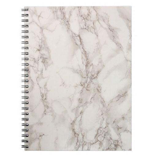 Marble Stone Spiral Notebook