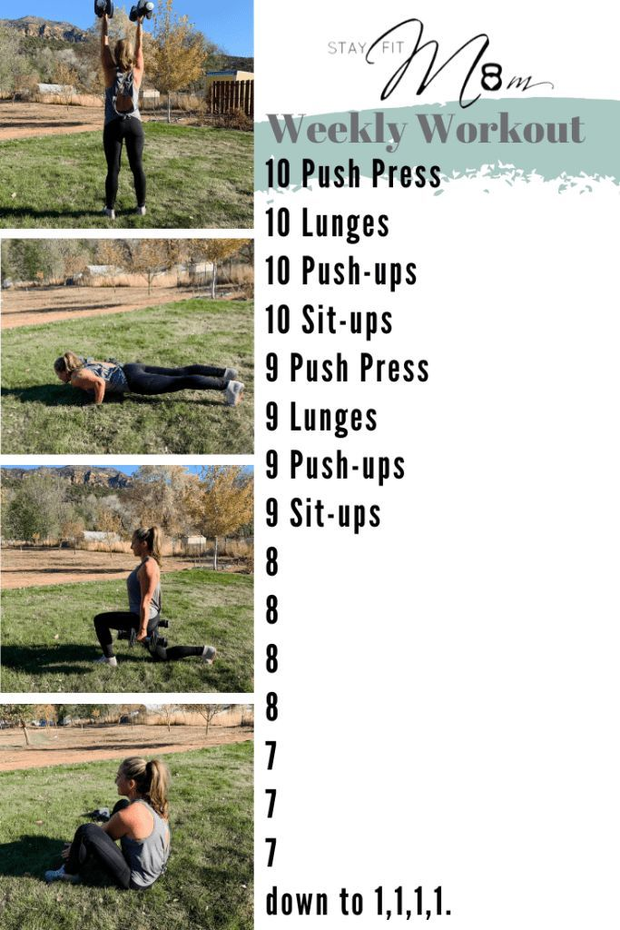 10 To 1 Workout Stay Fit Mom Crossfit Workouts At Home Stay Fit At Home Workouts