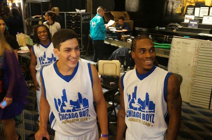 Chicago Boyz Team! #AGT #BTS