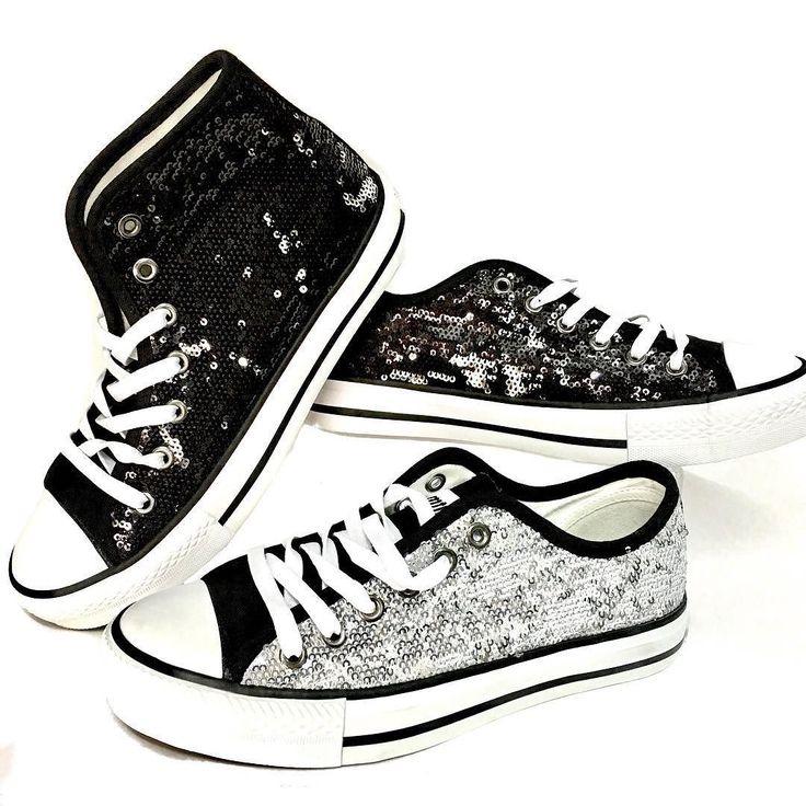 Lentejuelas brillo y glamour en tus pies con estas bambas de MUSTANG.  967016666 mensaje directo