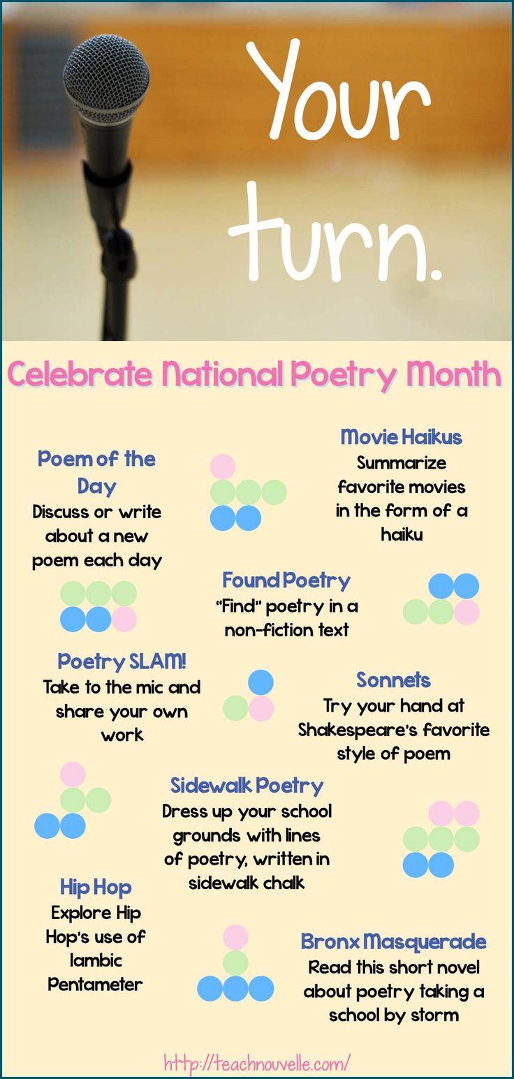 26 best Grade 9 Poetry images on Pinterest | School, Teaching ...