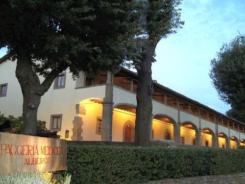 Villa Medicea La Ferdinanda The magnificence of its historic rooms and the big garden.