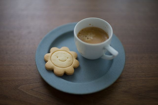 I love shortbread cookies with tea and coffee. Perfect combination.