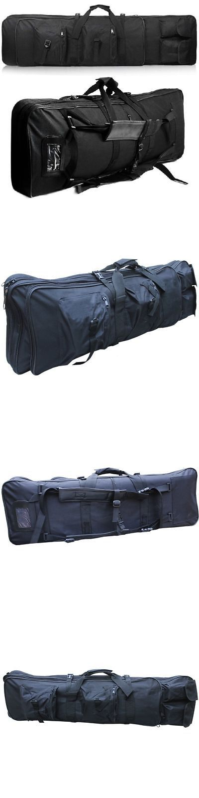 Hunting Bags and Packs 52503: 600D 47 120Cm Swat Dual Tactical Rifle Carrying Case Gun Bag Fishing Bags Black -> BUY IT NOW ONLY: $35.99 on eBay!