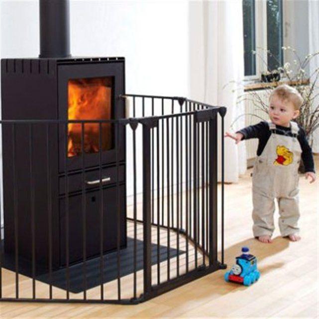 barri re de s curit et de chemin e 300cm 5 pans metal protect monsieur bebe barri re. Black Bedroom Furniture Sets. Home Design Ideas