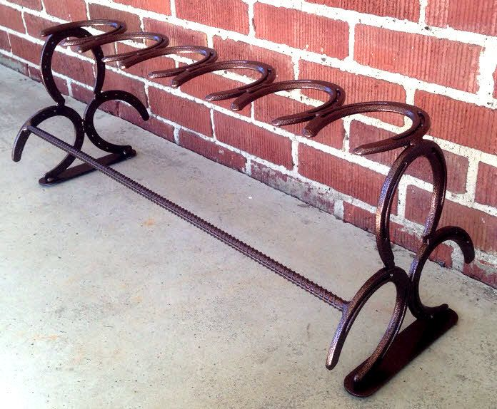 Horse Shoe Boot Rack by TRossCreations on Etsy