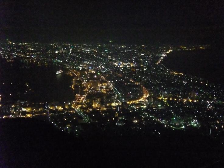 Night view of Hakodate,Hokkaido,Japan