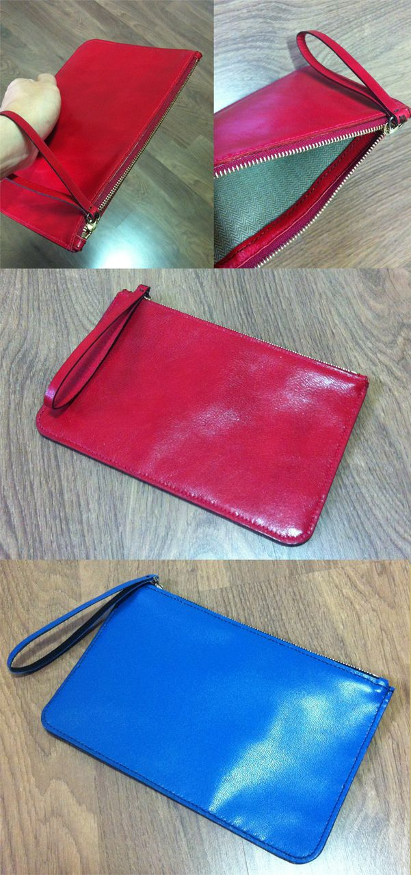 a clutch can put into small items such as cell phone, purse and ID card. I think it would be useful for office ladies.