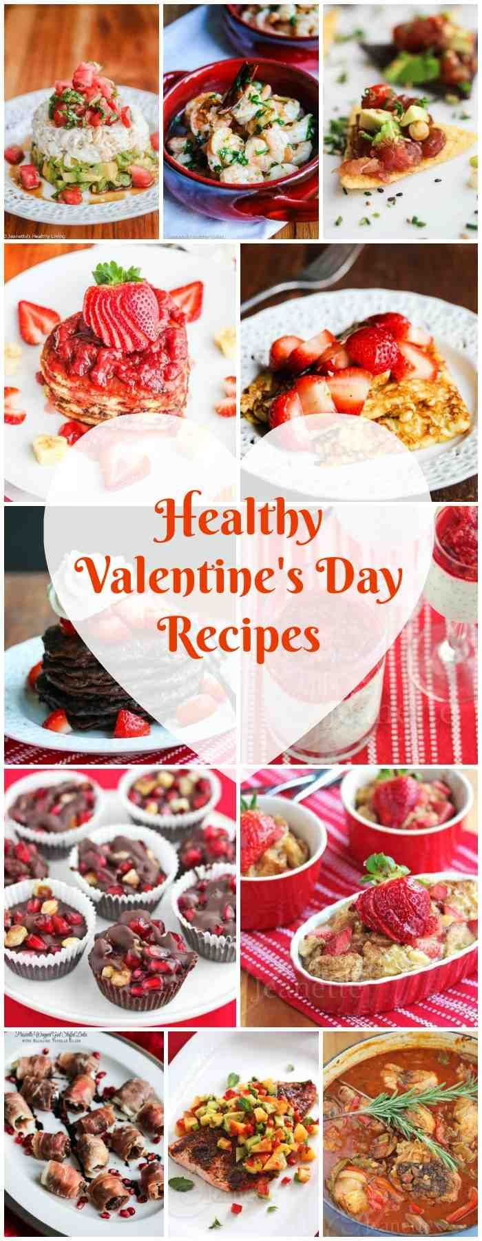 Healthy Valentines Day Recipes - treat your sweetheart to these delicious romantic dishes, from breakfast through dinner