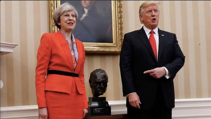 """Over a Million in Britain Petition to Bar Trump From UK State Visit  Trump """"should not be invited to make an official State Visit,"""" the petition states."""