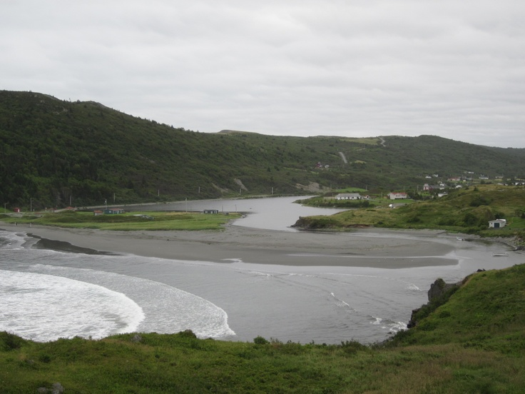 Salmon Cove, Newfoundland,,,sandy beach...hard to come by on the Island!!