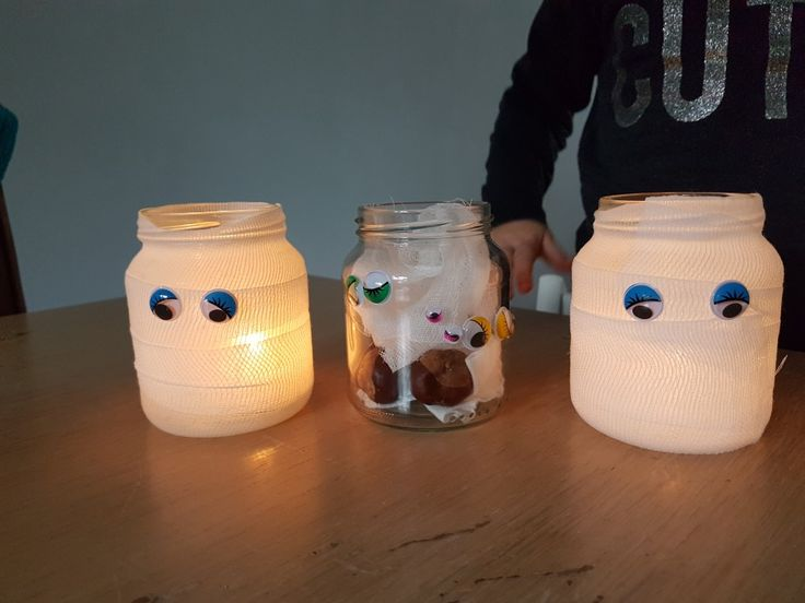 Mummie waxine lichtjes