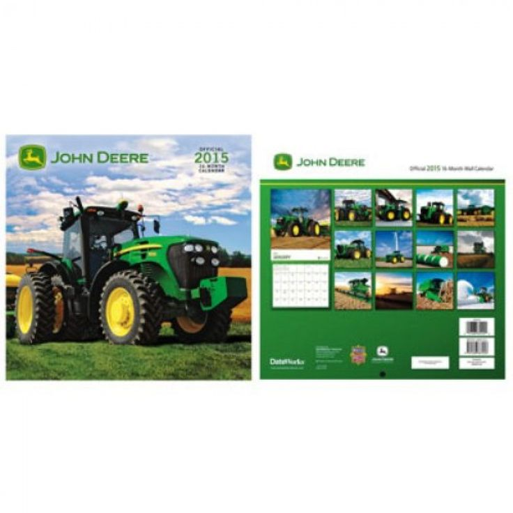 John Deere Photo 2015 Calendar | RunGreen.com