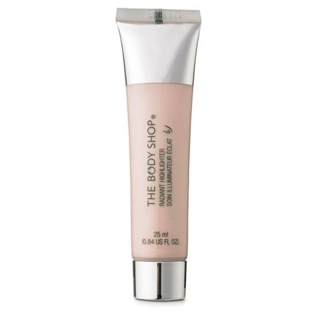 Can't recommend this enough - I LOVE: Radiant Highlighter by The Body Shop - great, inexpensive dupe for Highbeam according to many beauty bloggers and one of my personal favorite products. Suits all skin tones and gives a dewy, glowy effect. <3  ~~~ TIP: DON'T RUB it into your cheekbone/browbone/bridge of nose/inner corners of eyes. Instead, lightly DAB it into the skin for best results. ~~~