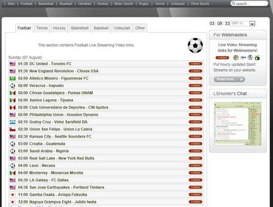 LSHunter.tv: vedere partite di calcio ed altri sport in streaming http://www.netclick.it/lshunter-tv-vedere-partite-di-calcio-ed-altri-eventi-sportivi-in-streaming-senza-pubblicita/